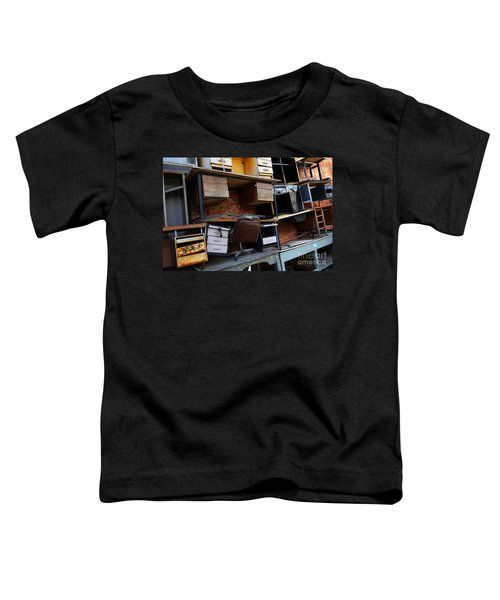 Desk Scrap Toddler T-Shirt
