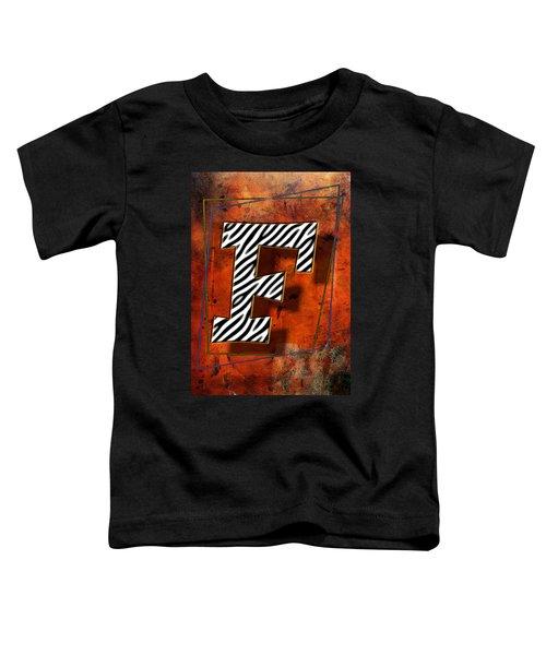 F Toddler T-Shirt
