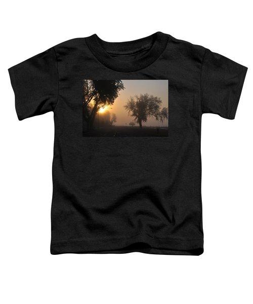 Foggy Morn Street Toddler T-Shirt