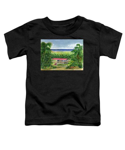 Foothills Of El Yunque Puerto Rico Toddler T-Shirt