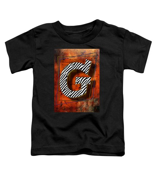 G Toddler T-Shirt