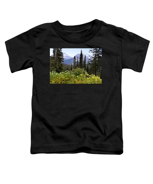 Toddler T-Shirt featuring the photograph Glacier Scenery by Susan Kinney