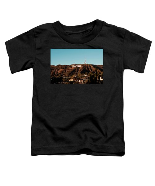 Hollywood Sign At Sunset Toddler T-Shirt