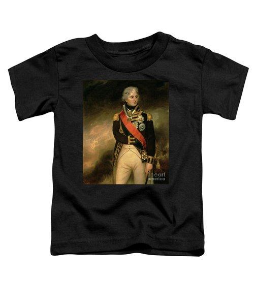 Horatio Viscount Nelson Toddler T-Shirt