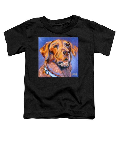 Hot Chocolate Lab Toddler T-Shirt