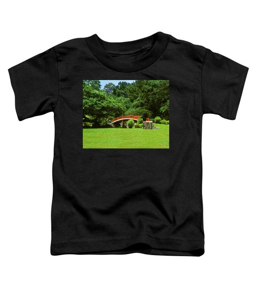 Japanese Garden Bridge 21m Toddler T-Shirt