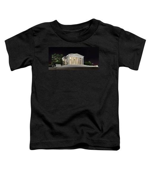 Jefferson Memorial Toddler T-Shirt