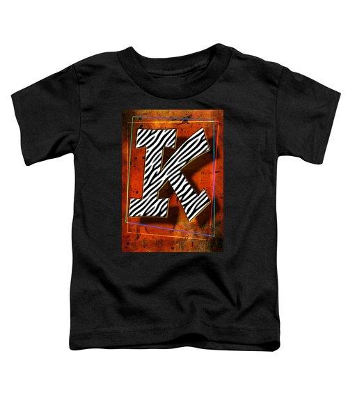 K Toddler T-Shirt