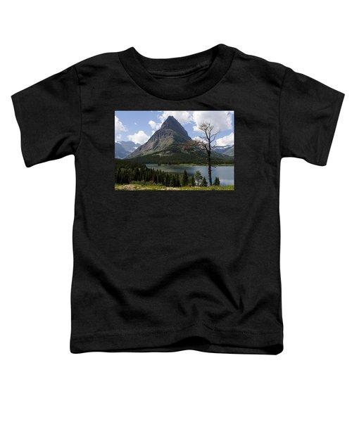 Lone Tree At Sinopah Mountain Toddler T-Shirt