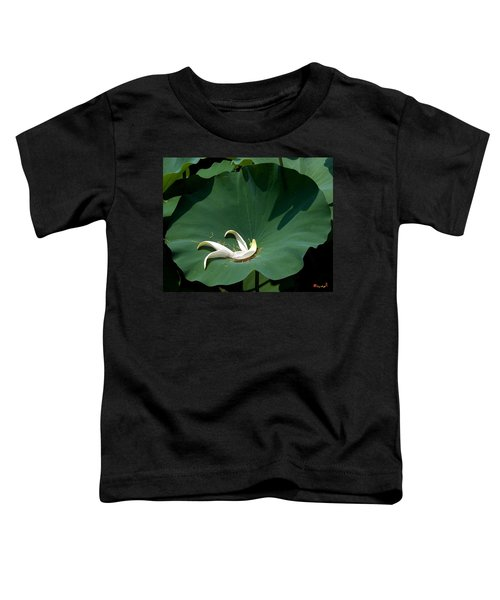 Lotus Leaf--castoff IIi Dl060 Toddler T-Shirt
