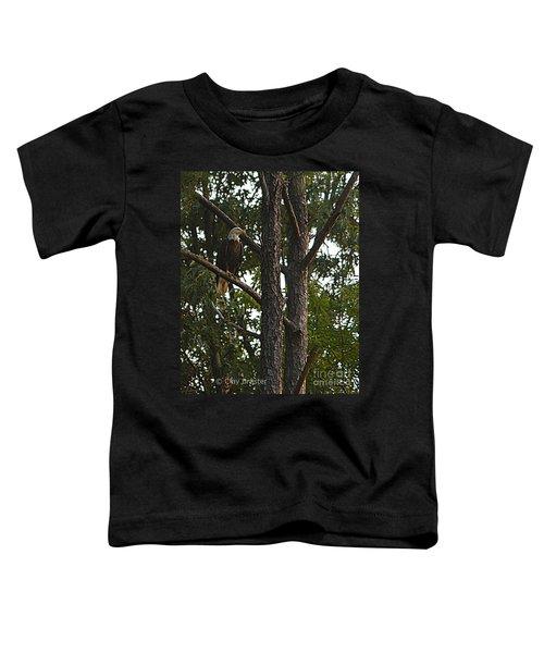 Majestic Bald Eagle Toddler T-Shirt