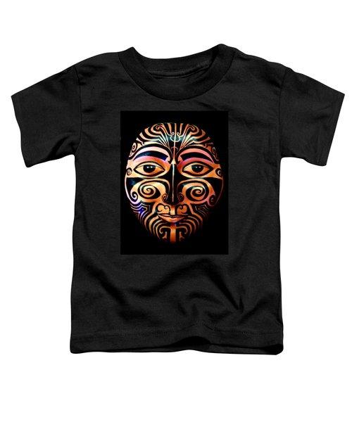 Maori Mask Toddler T-Shirt