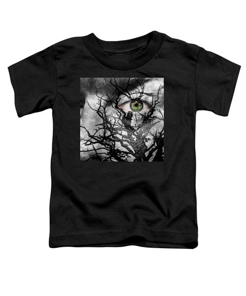 Medusa Tree Toddler T-Shirt by Semmick Photo