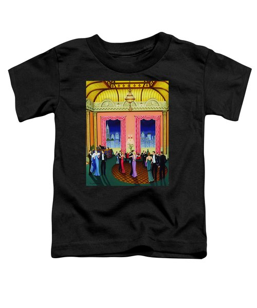 Midnight In Manhattan Toddler T-Shirt