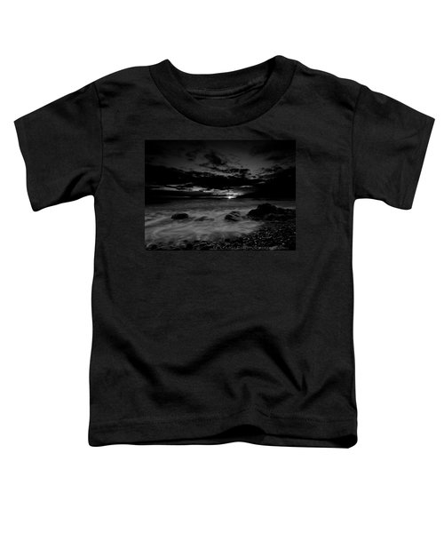 Monochrome Sunset  Toddler T-Shirt
