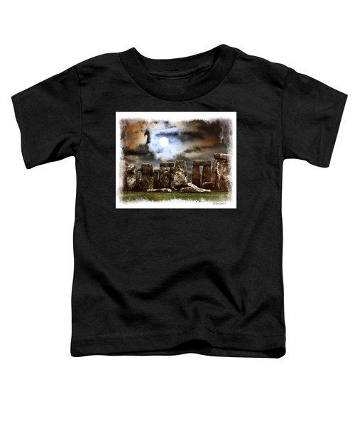 Moon Over Stonehenge Toddler T-Shirt