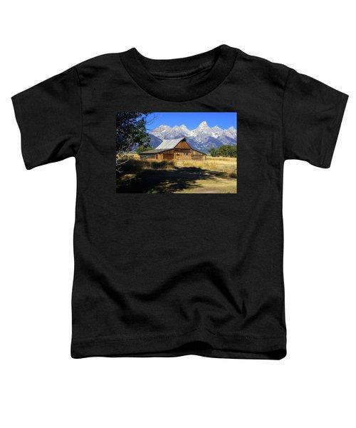 Mormon Row Barn Toddler T-Shirt