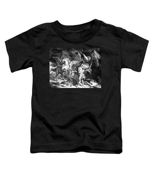 Mythology: Perseus Toddler T-Shirt by Granger