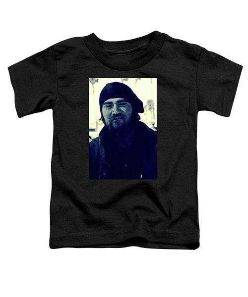Navy Blue Man Toddler T-Shirt