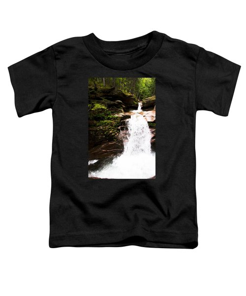 New Hampshire Waterfall Toddler T-Shirt