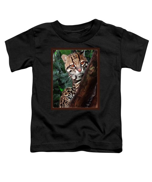 Ocelot Lookout Toddler T-Shirt