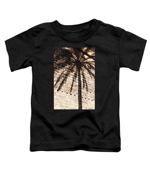 Palm Shadow Toddler T-Shirt