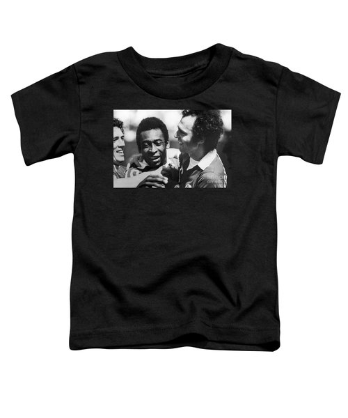 Pele & Beckenbauer, C1977 Toddler T-Shirt by Granger