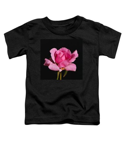 Pink Tea Rose Toddler T-Shirt