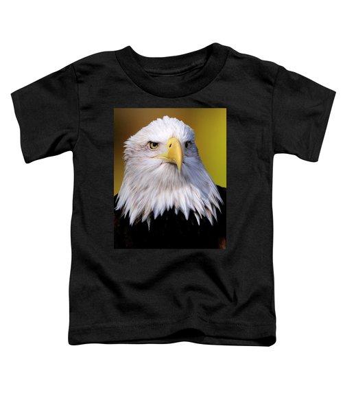 Portrait Of A Bald Eagle Toddler T-Shirt