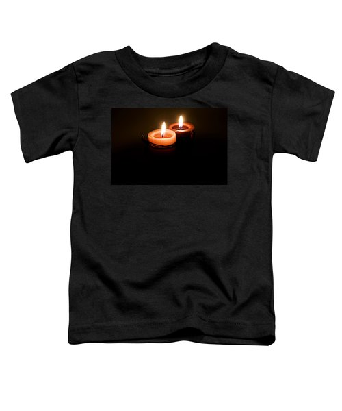 Red Candles Toddler T-Shirt