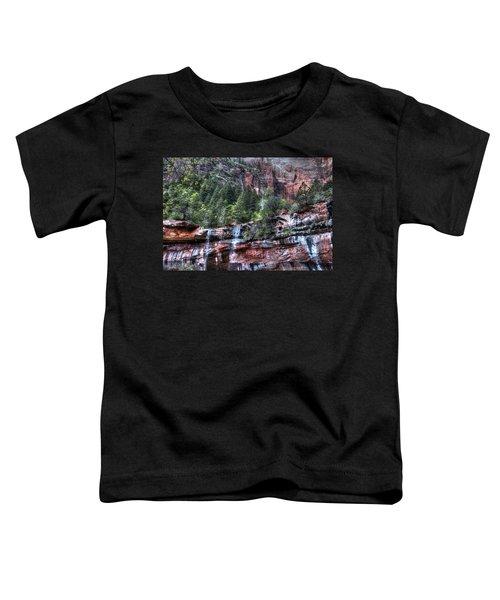 Red Falls Toddler T-Shirt
