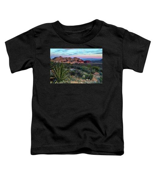Red Rock Sunset II Toddler T-Shirt