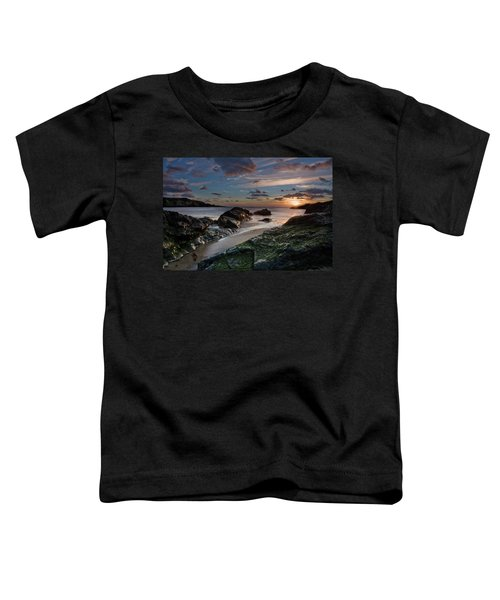 Rhosneigr Sunset  Toddler T-Shirt