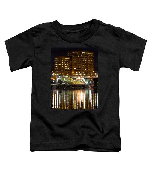 River Front At Night Toddler T-Shirt