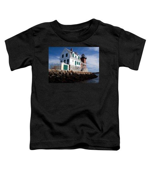 Rockland Breakwater Lighthouse Toddler T-Shirt