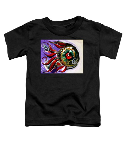 Salvador Dali Octo Fish Toddler T-Shirt