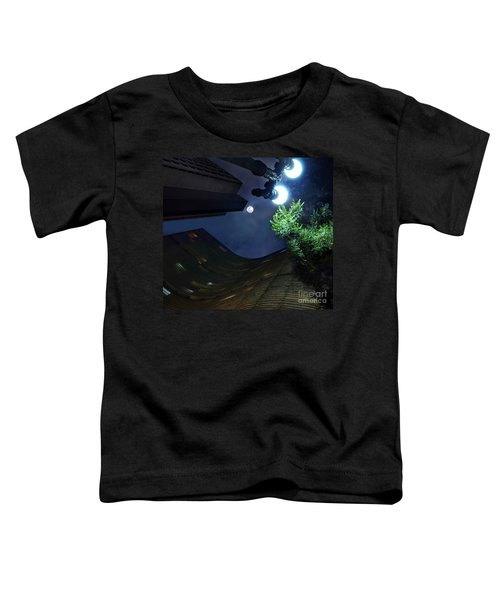 Copan Building And The Moonlight Toddler T-Shirt