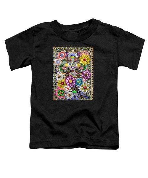 Sketchbook 3 Pg Back Of Cover Toddler T-Shirt