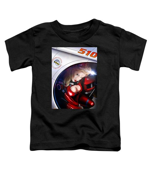 Space Girl Toddler T-Shirt