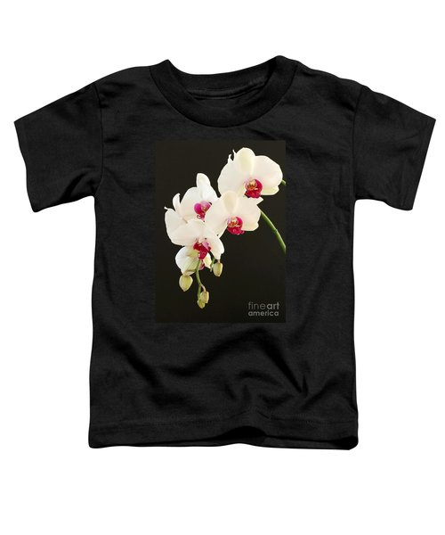 Spray Of White Orchids Toddler T-Shirt