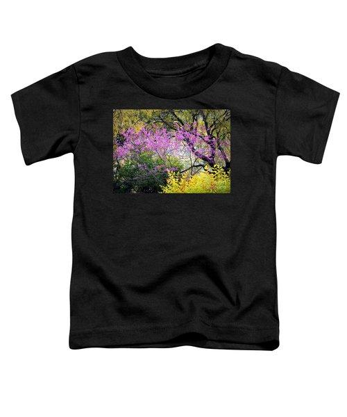 Spring Trees In San Antonio Toddler T-Shirt