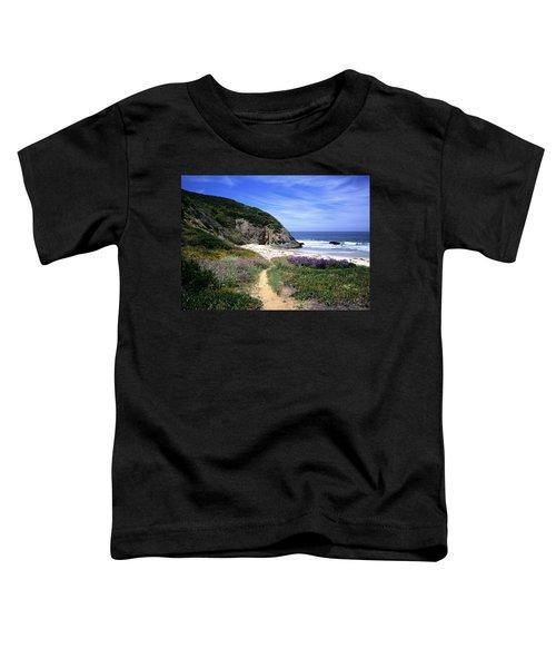 Springtime Trail  Dana Point Headlands Toddler T-Shirt