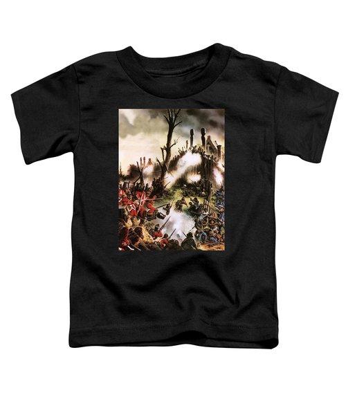 Storming Of Maori Fort  Toddler T-Shirt