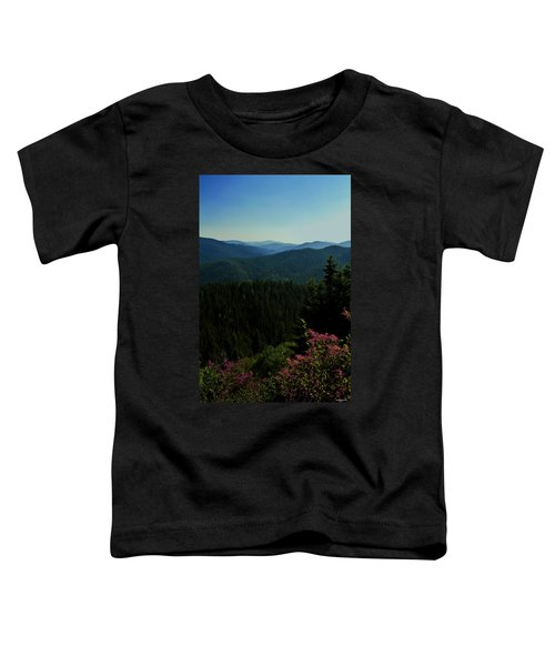 Summer In The Mountains Toddler T-Shirt