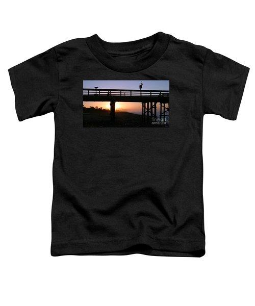 Sunrise Pier Ventura Toddler T-Shirt