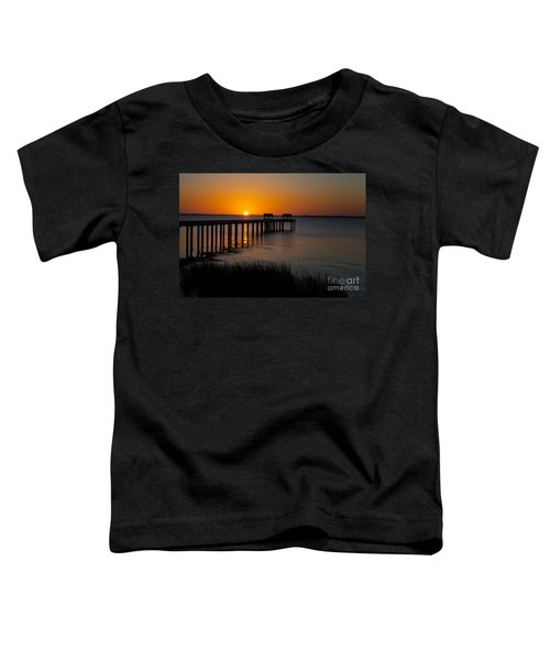 Sunset Across Currituck Sound Toddler T-Shirt