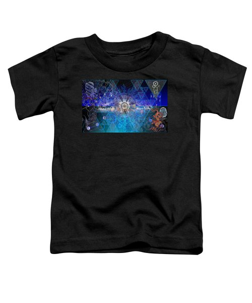Synesthetic Dreamscape Toddler T-Shirt