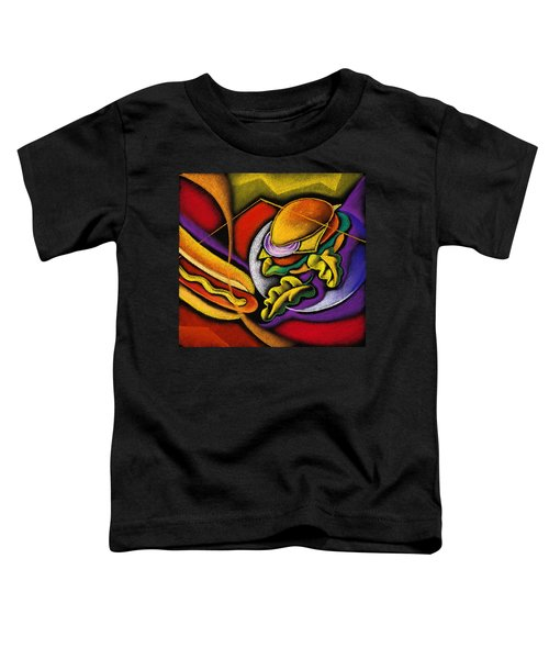 Lunchtime Toddler T-Shirt by Leon Zernitsky