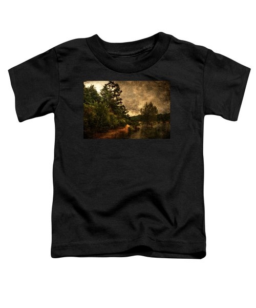Textured Lake Toddler T-Shirt