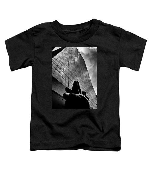 The Bull Never Sleeps Toddler T-Shirt